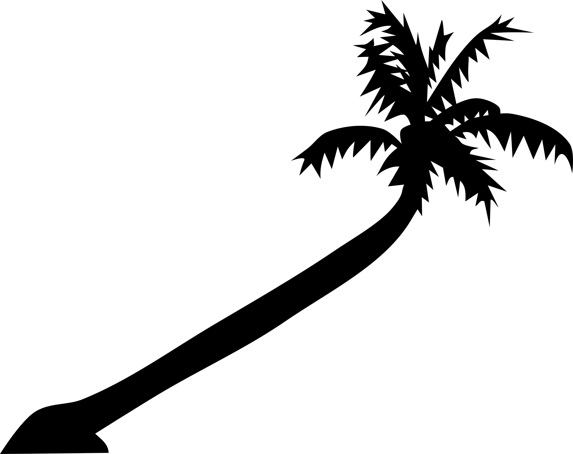 Free Palm Tree Vector Clipart