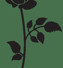 3591x7000 rose silhouette png clip art imageu200b gallery yopriceville [ 3591 x 7000 Pixel ]