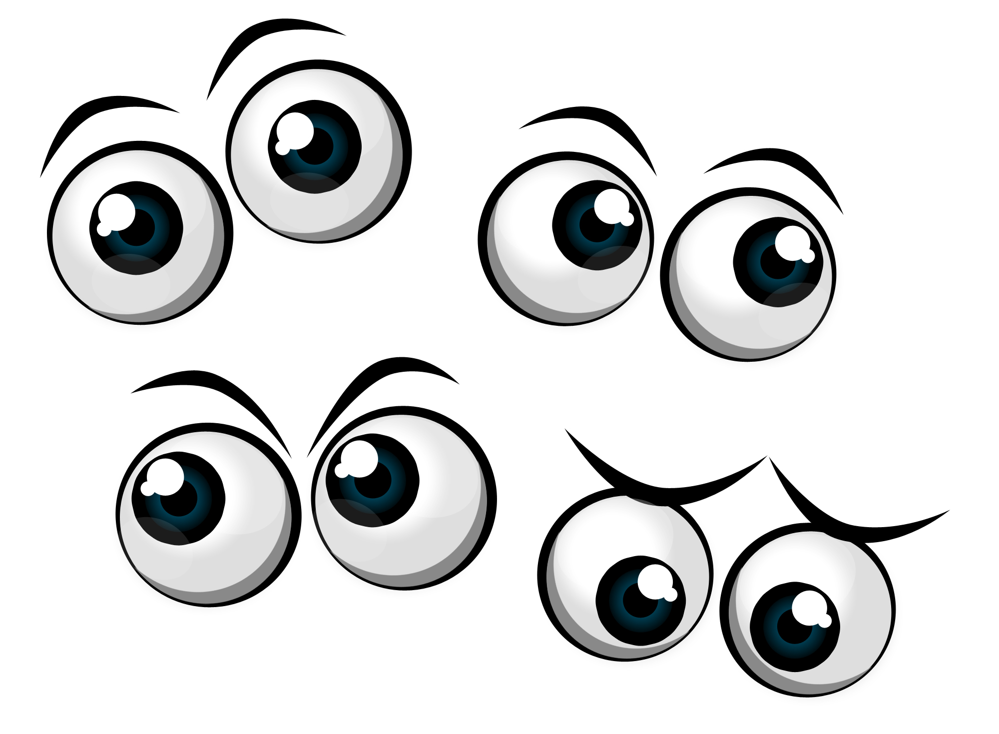 hight resolution of 2000x1469 brown eyes clipart funny eye