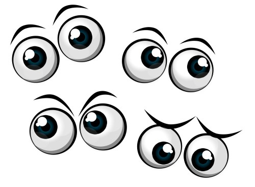 small resolution of 2000x1469 brown eyes clipart funny eye