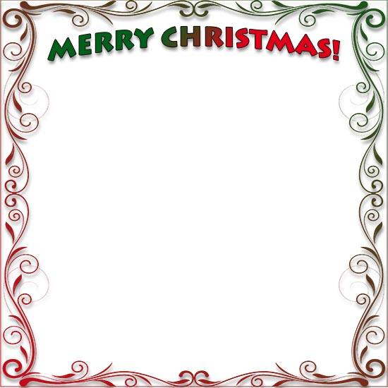 image regarding Free Christmas Clipart Borders Printable called Free of charge Printable Family vacation Body