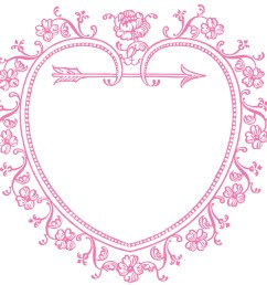 1350x1265 vintage valentine s day clip art [ 1350 x 1265 Pixel ]
