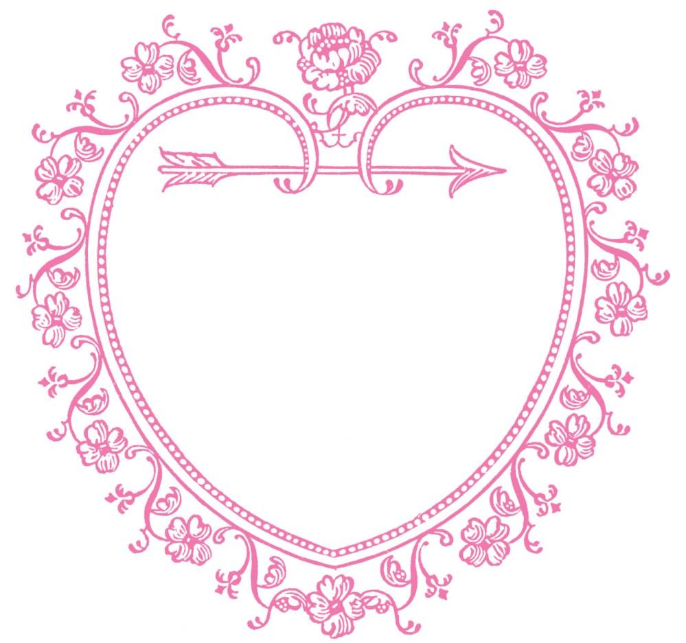 medium resolution of 1350x1265 vintage valentine s day clip art