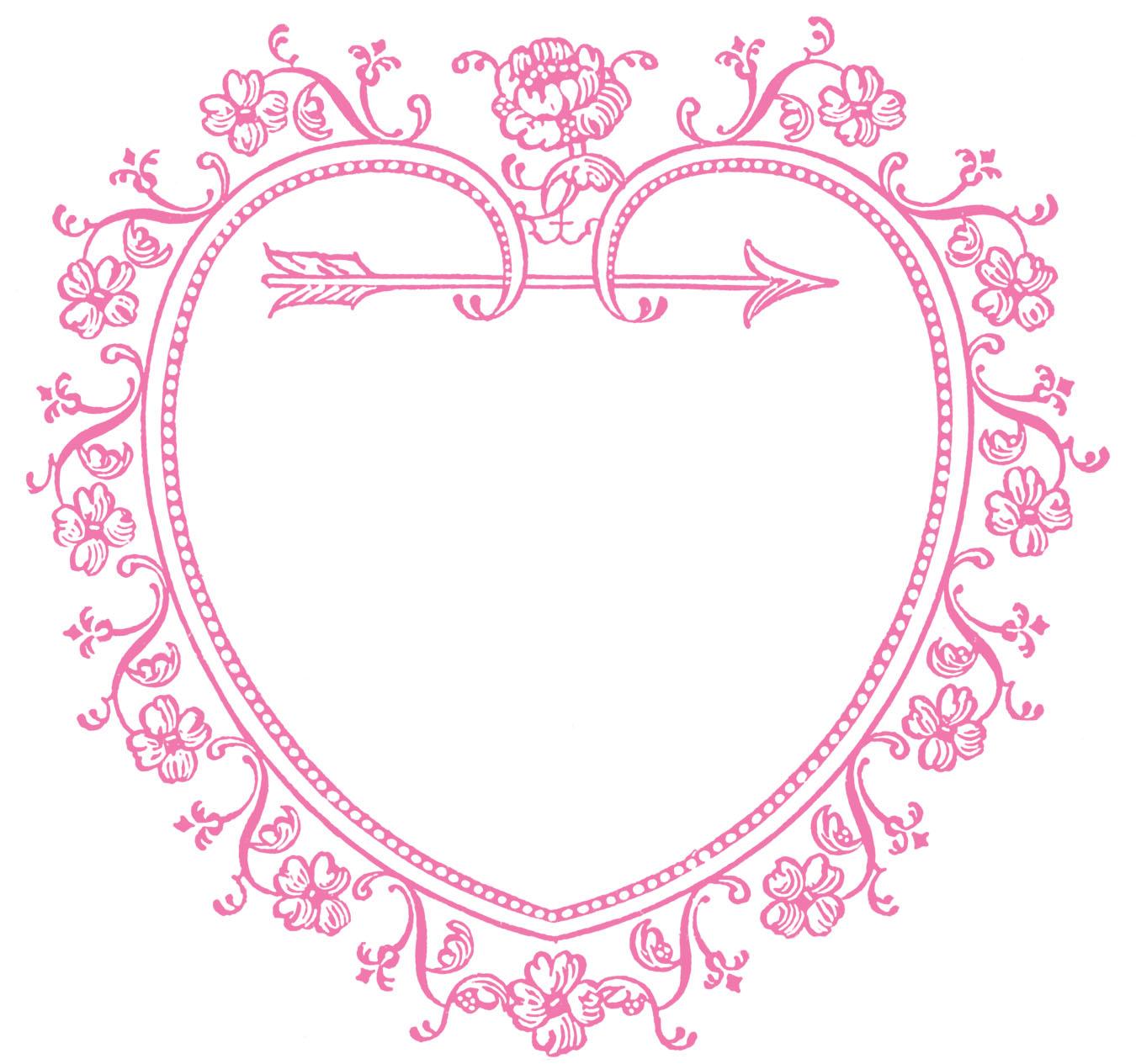 hight resolution of 1350x1265 vintage valentine s day clip art