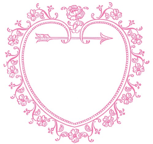 small resolution of 1350x1265 vintage valentine s day clip art