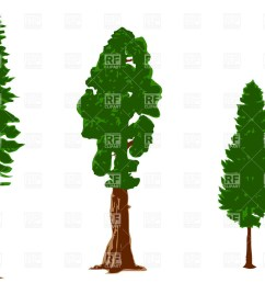 1200x853 silhouettes of pine trees royalty free vector clip art image [ 1200 x 853 Pixel ]