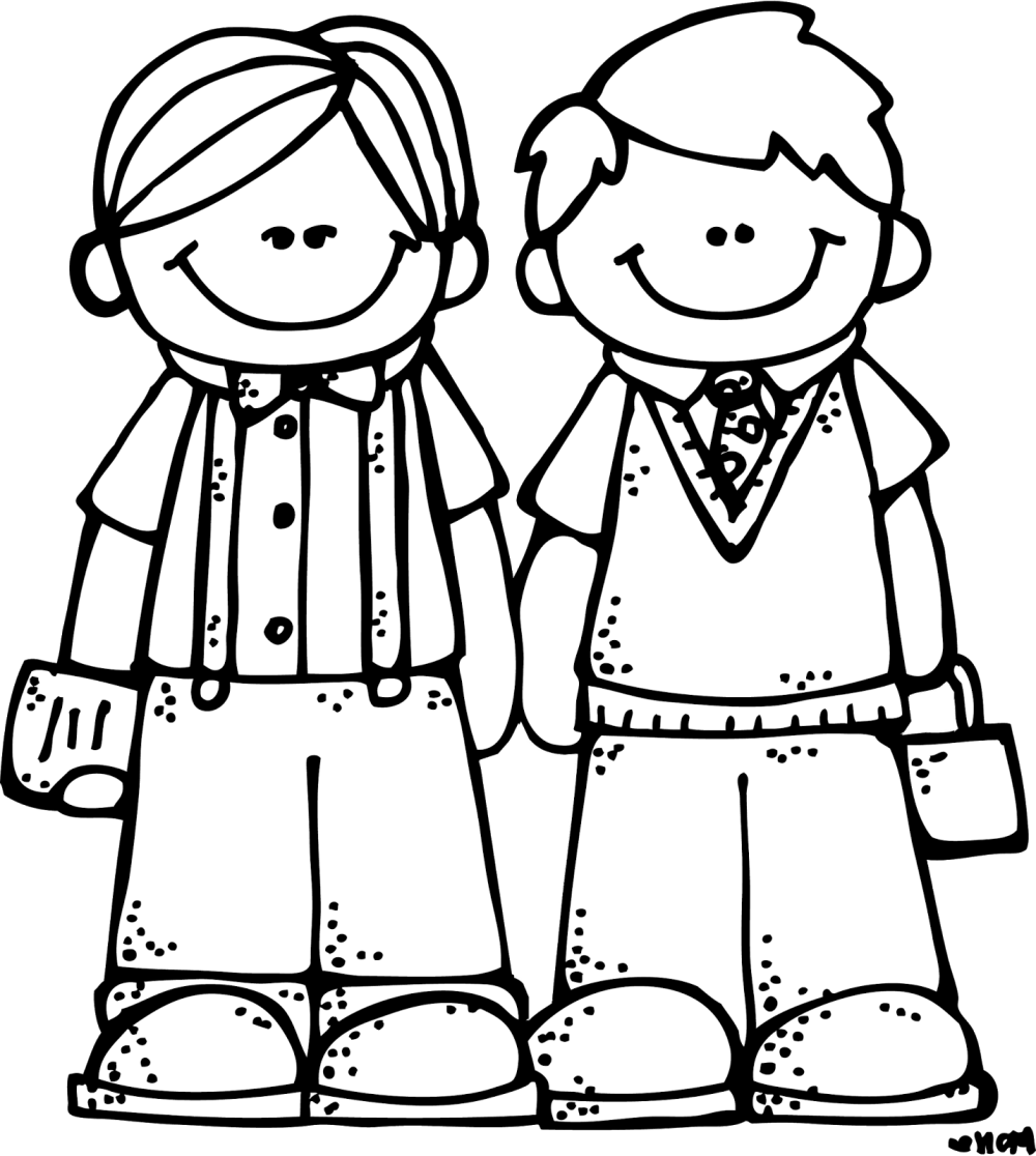 medium resolution of 1433x1600 friends clipart black and white png