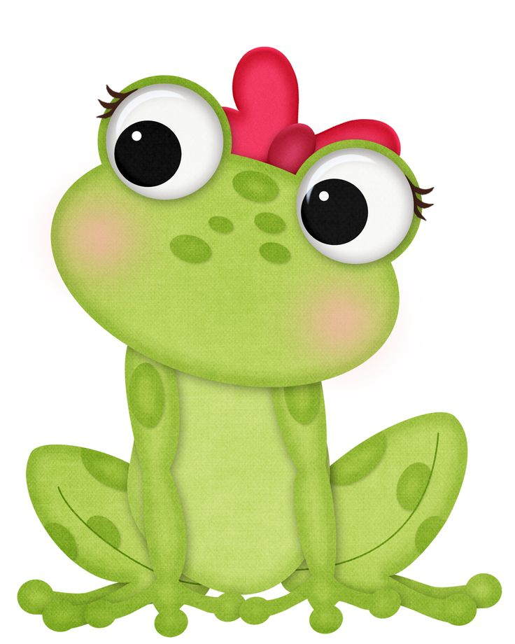 frog cartoons clipart free