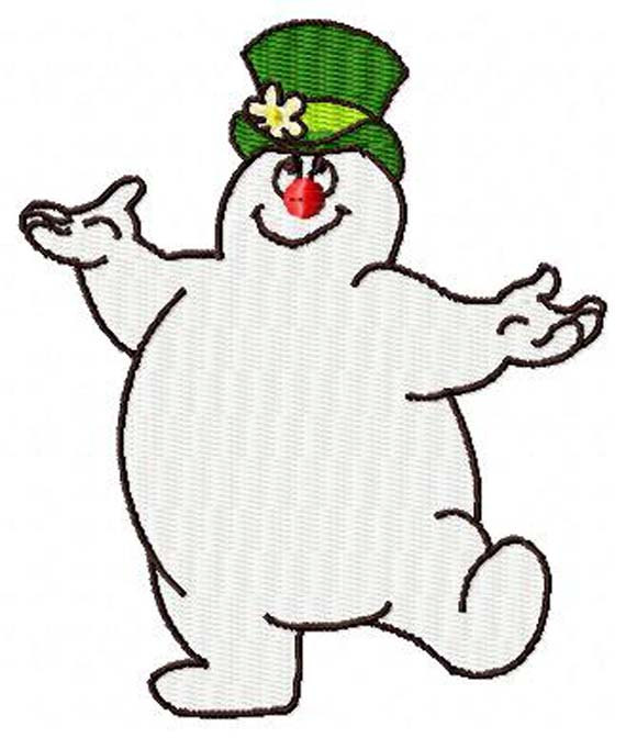 frosty clipart free
