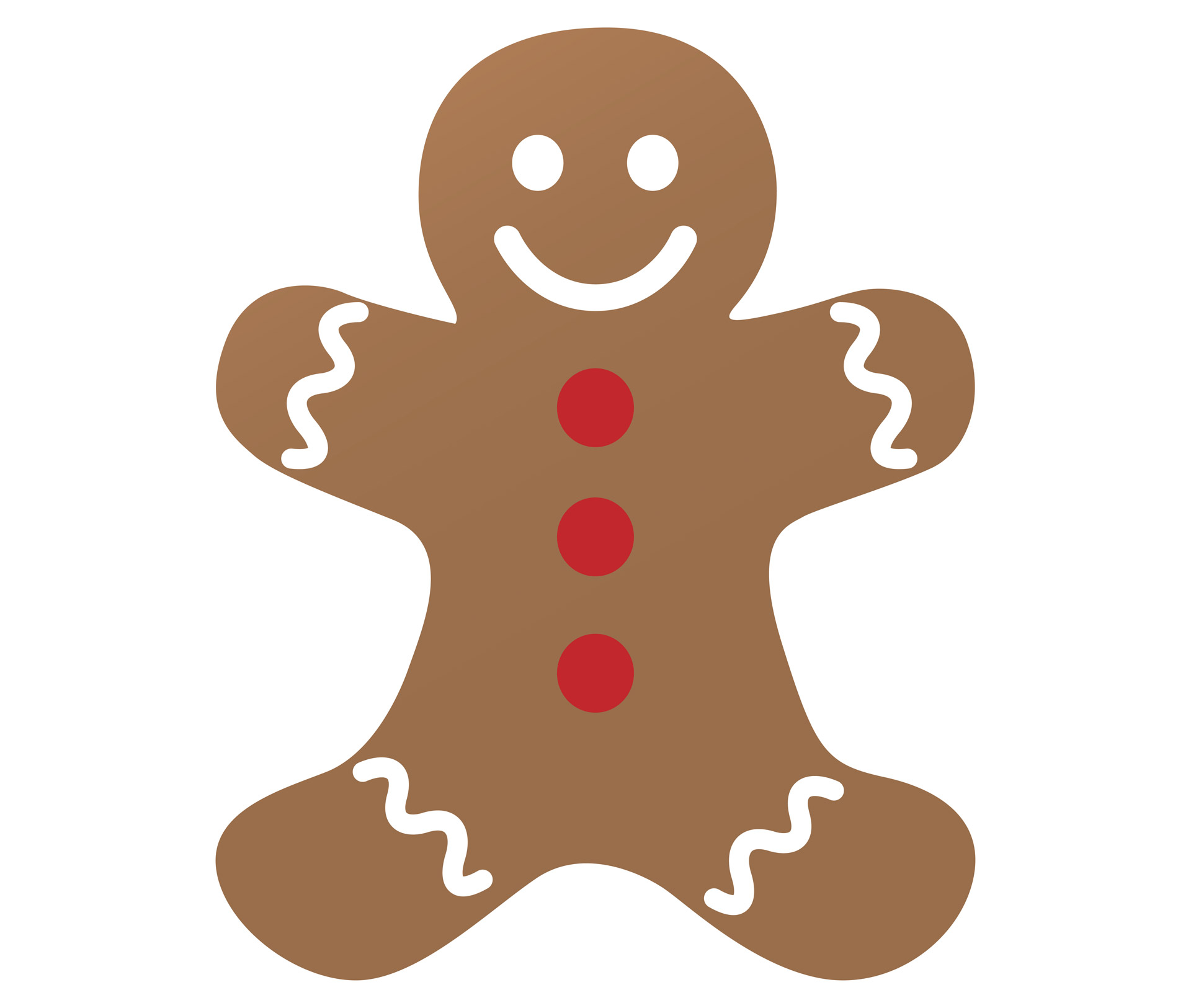 Gingerbread Man Outline