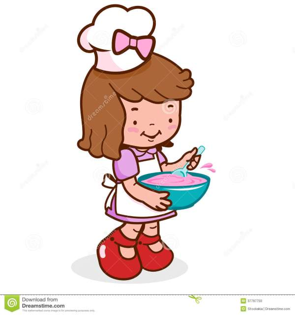 Girl Chef Clipart Free