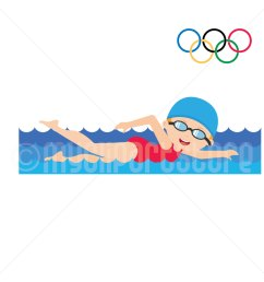 1500x1500 summer olympics clipart girl swimming olympic games [ 1500 x 1500 Pixel ]