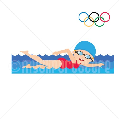 small resolution of 1500x1500 summer olympics clipart girl swimming olympic games