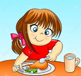 dinner clipart eat eating breakfast clipartmag cliparts