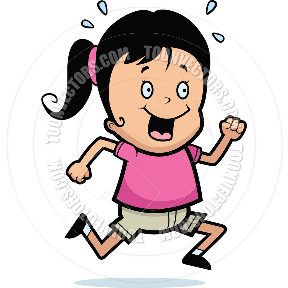 medium resolution of 940x940 girl running by cory thoman toon vectors eps