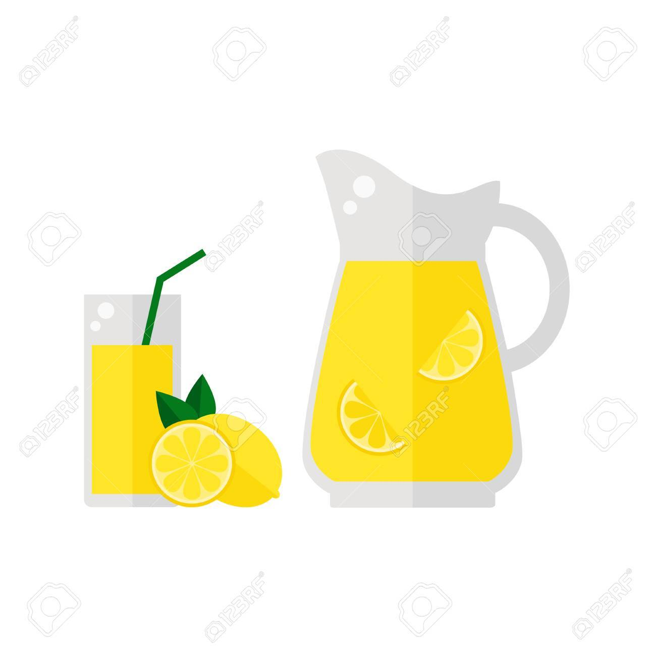 hight resolution of 1300x1300 lemonade juice icon isolated on white background glass