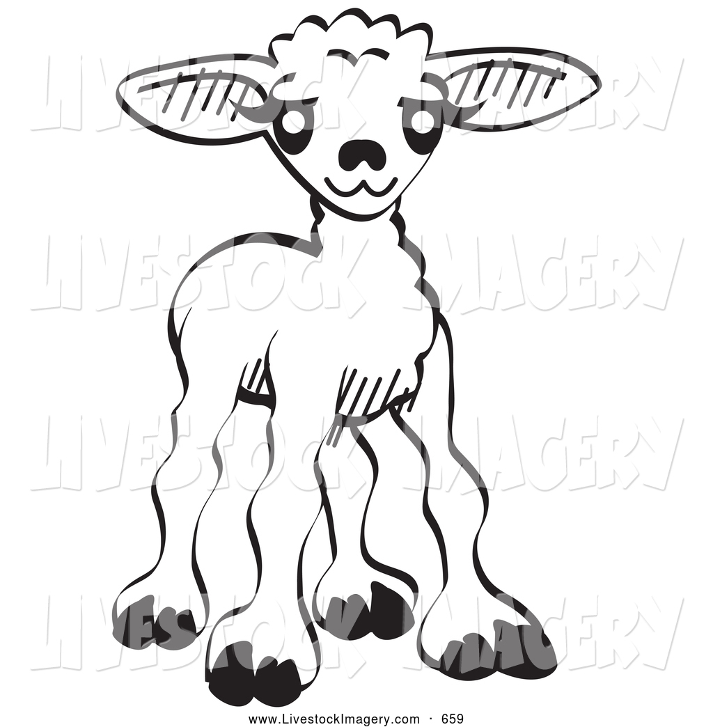 Goat Clipart Black And White