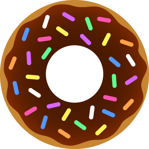 small resolution of 4187x4187 donuts clip art many interesting cliparts