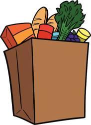 grocery bag shopping clipart clip supermarket paper vector bags brown pencil cliparts illustrations clipartmag drive similar graphics cartoons