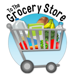 grocery clipart supermarket icon shopping background food transparent creative clipartmag icons cliparts clipground