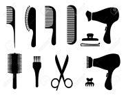 hair salon clipart free