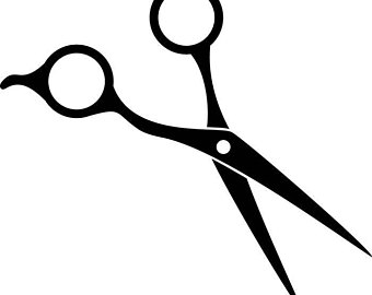 hair scissors clipart free