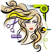 hair stylist pics clipart free