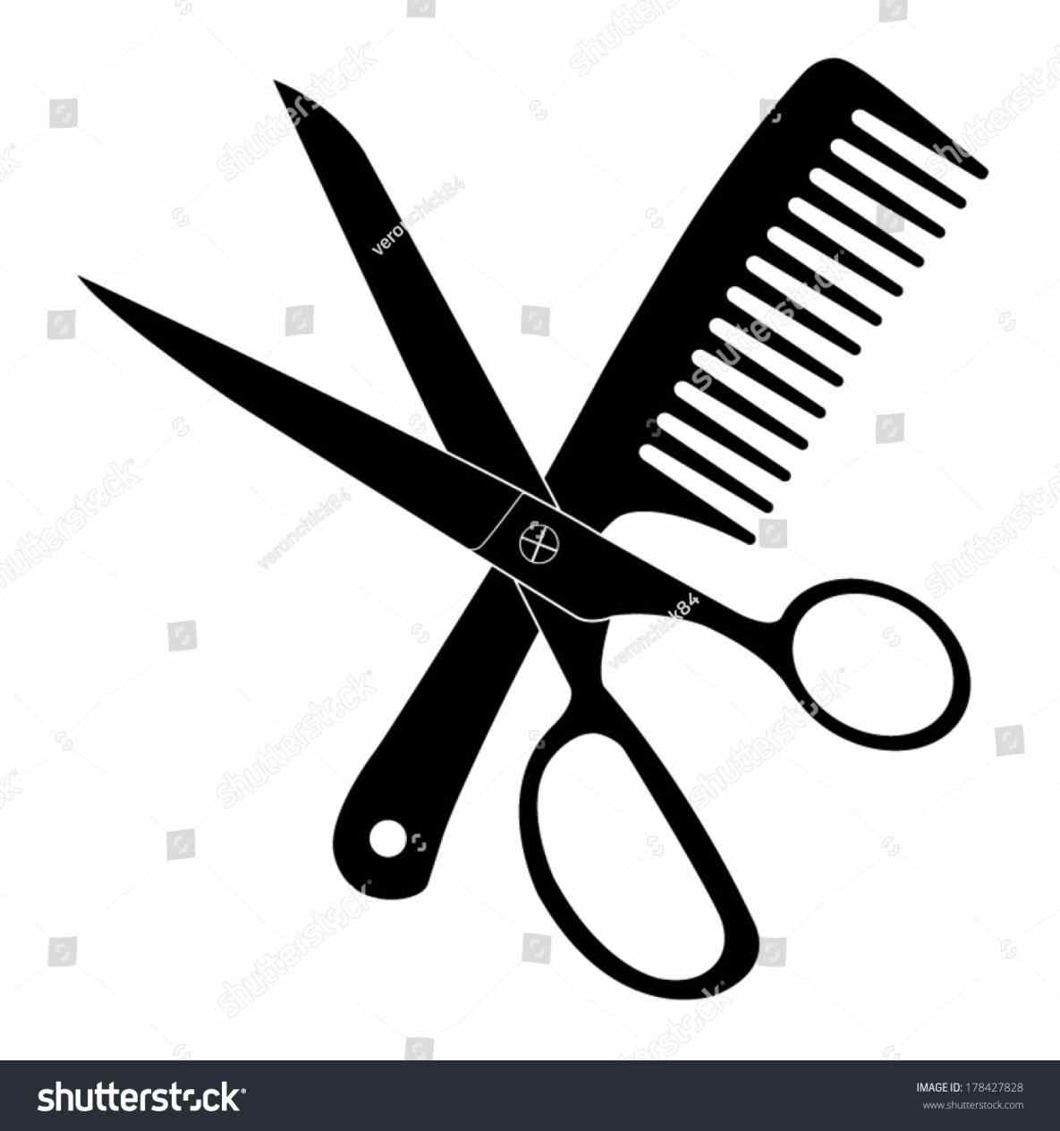 Hairdresser Scissors Clipart