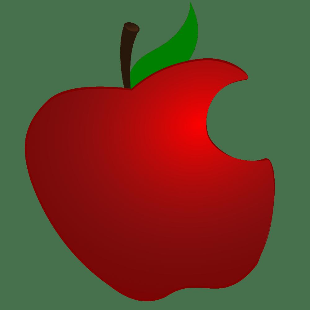medium resolution of 2400x2400 apple clipart simple
