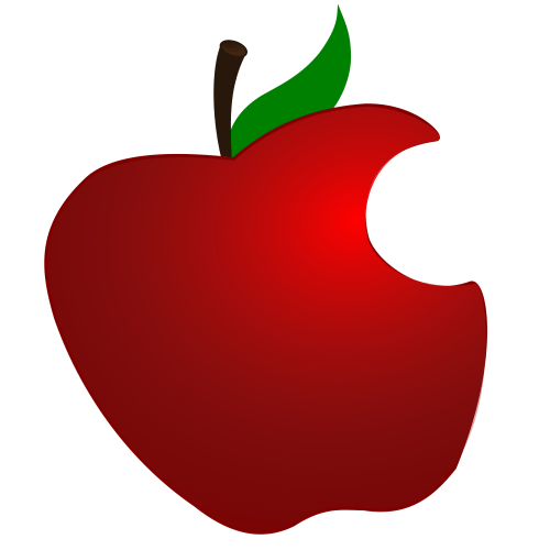 small resolution of 2400x2400 apple clipart simple