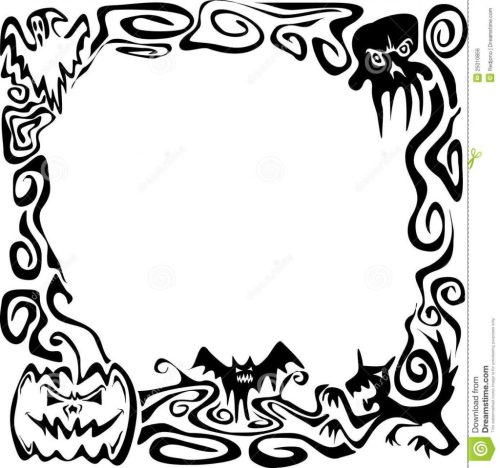 small resolution of 1024x960 uncategorized black and whiteloween border clip art clipart free