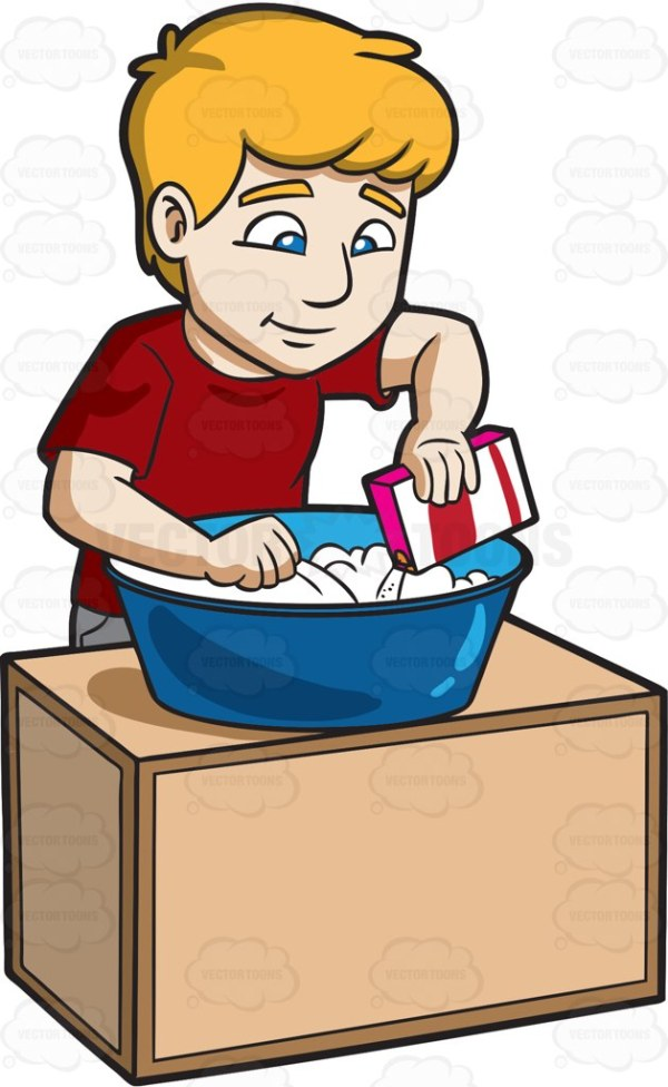 hand washing cartoon clipart