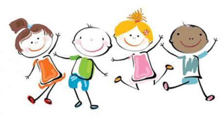 happy clipart children clipartmag