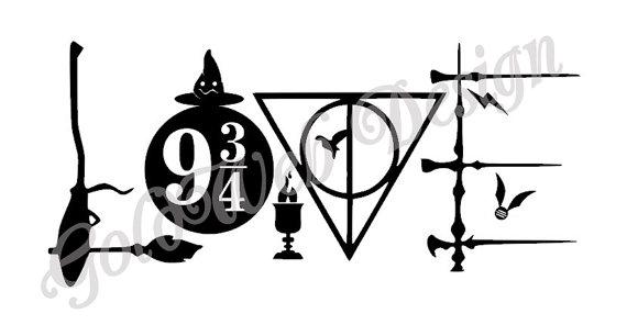 Download Harry Potter Line Art   Free download on ClipArtMag