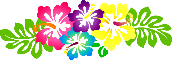hawaii flowers clipart free
