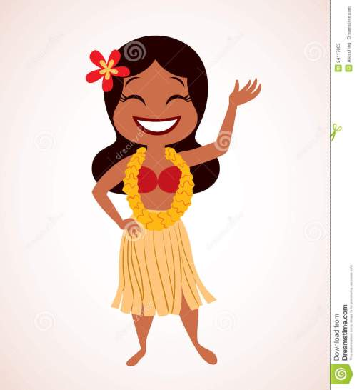 small resolution of 1190x1300 hula girl clip art