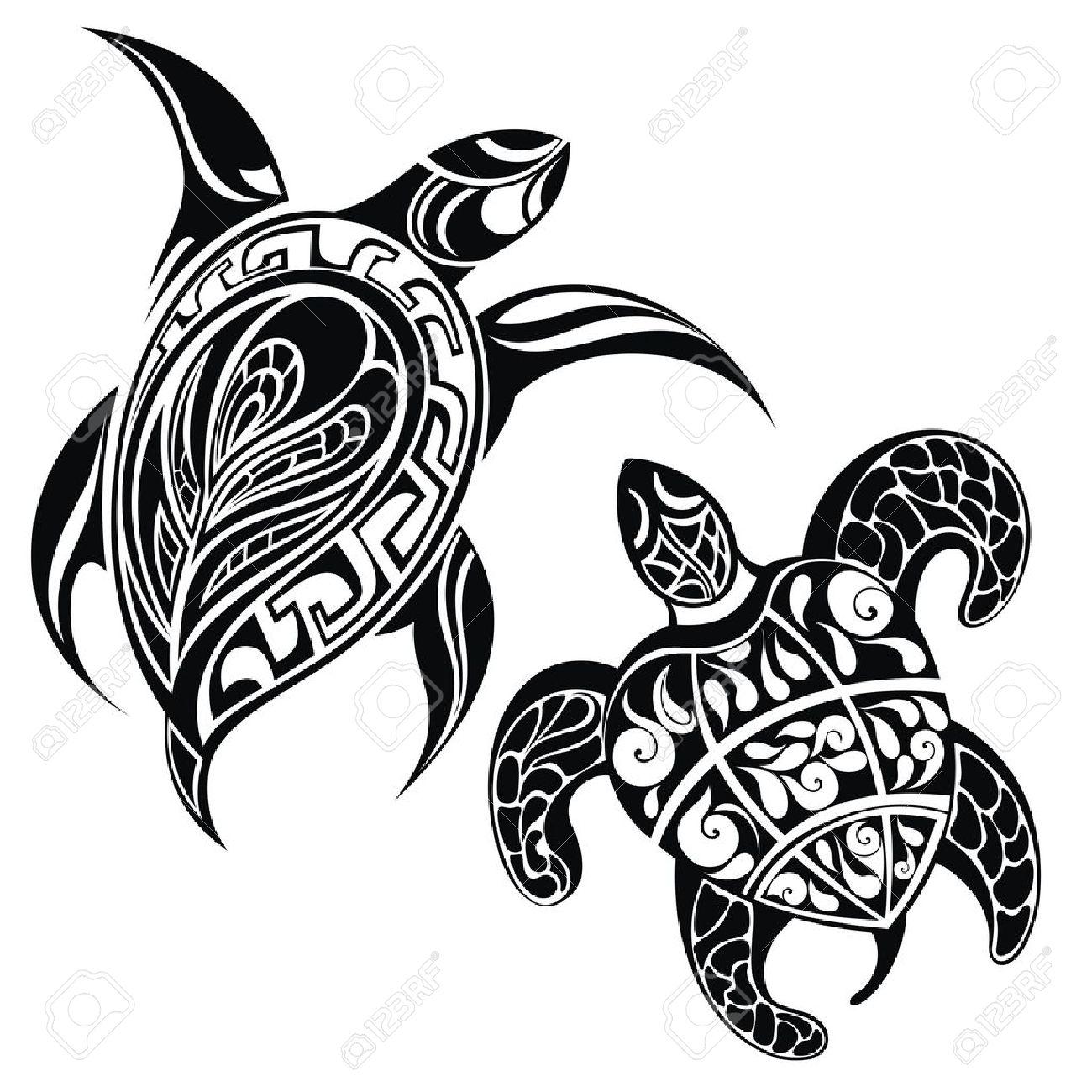 Hawaiian Sea Turtle Clipart