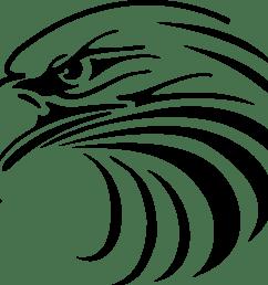 1177x1024 eagle head mascot clipart [ 1177 x 1024 Pixel ]