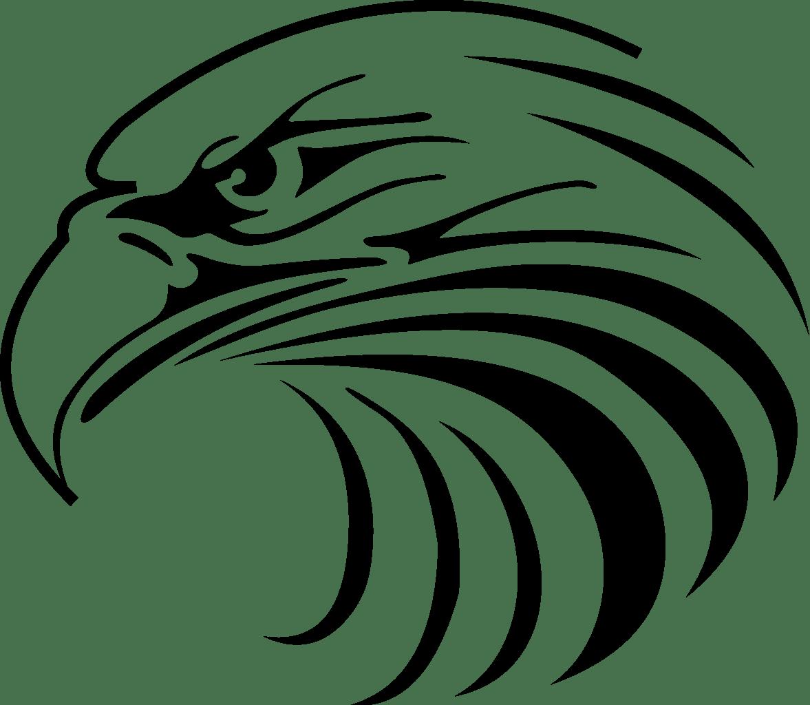 hight resolution of 1177x1024 eagle head mascot clipart