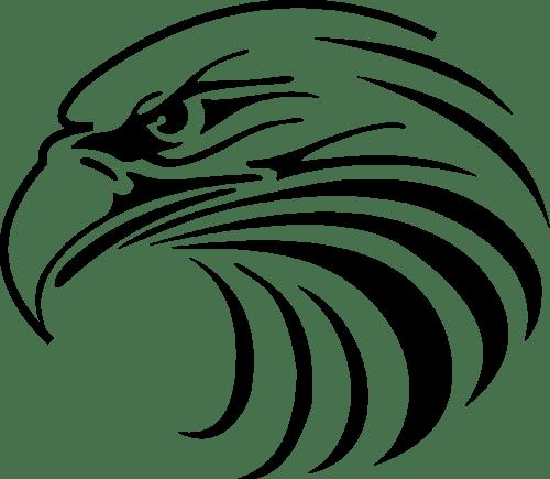 small resolution of 1177x1024 eagle head mascot clipart
