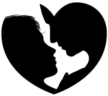 Download Heart Silhouette Clipart   Free download on ClipArtMag
