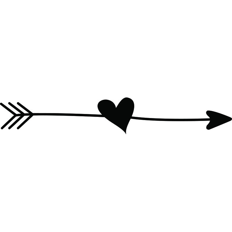 Download Heart With Arrow Clipart | Free download on ClipArtMag