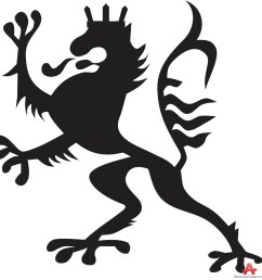 995x999 heraldic royal lion symbol free clipart design download [ 995 x 999 Pixel ]