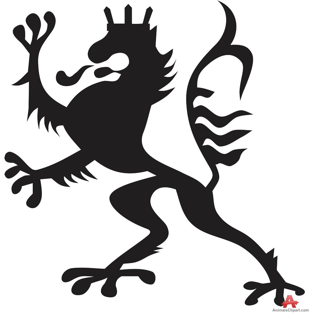 hight resolution of 995x999 heraldic royal lion symbol free clipart design download