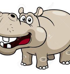 1300x975 illustration of cartoon hippopotamus royalty free cliparts [ 1300 x 975 Pixel ]