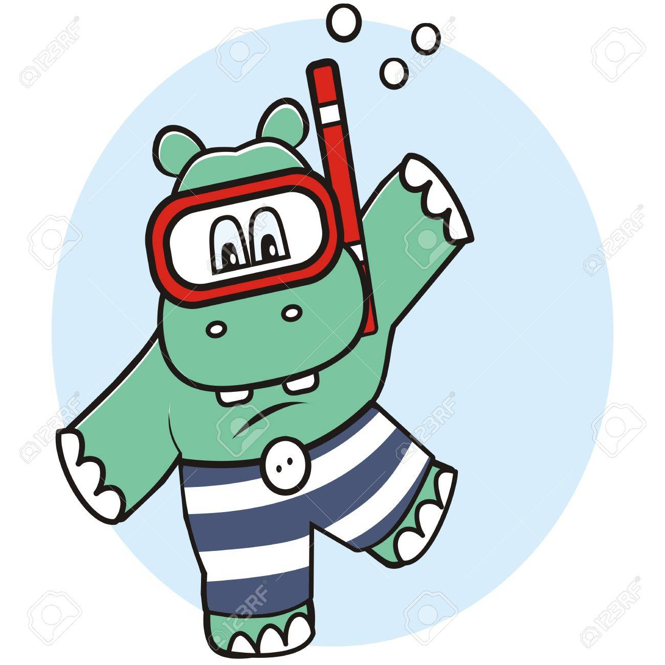hight resolution of 1300x1300 hippo in water royalty free cliparts vectors and stock