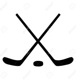 1300x1300 ice hockey sticks puck royalty free cliparts vectors  [ 1300 x 1300 Pixel ]