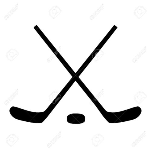small resolution of 1300x1300 ice hockey sticks puck royalty free cliparts vectors