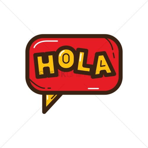 small resolution of 1300x1300 spain clipart spanish hola