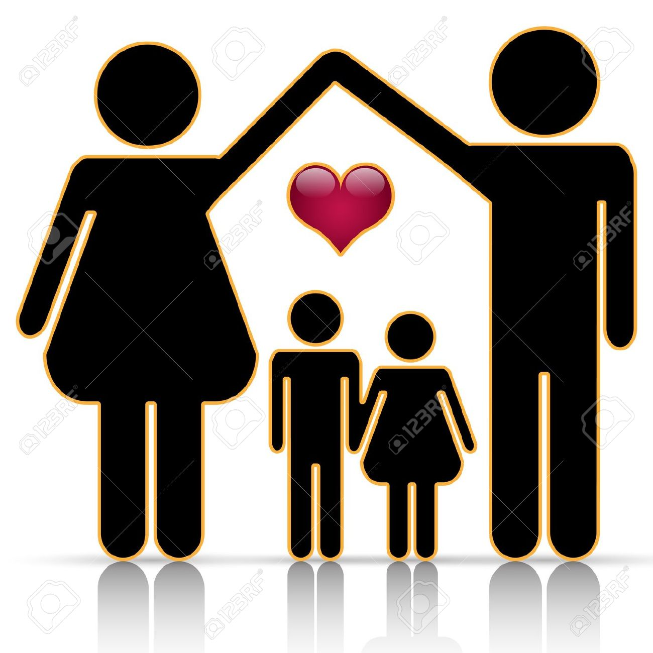 hight resolution of 1300x1300 best black family clipart